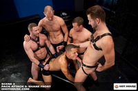 Hardcore Hairy shay michaels pack attack shane frost gay porn star hot house muscle bear beefy build hairy muscular scruffy masculine spencer reed trevor knight cole streets preston steel fucking gangbang group hardcore bears part