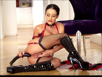 Suze Hardcore azlea pictures latex suze randall antistia leather boots bondage dildo presents hardcore