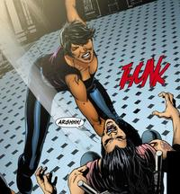 Amanda Blue Hardcore amanda waller collects nut suicide squad
