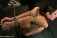 Amber Rain Hardcore boundgangbangs bound gang bangs amber rayne gets fucked group men