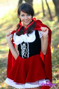 Andi Land Hardcore galleries andi land red riding hood naughty breasts