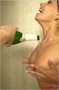 Aneta Keys Hardcore updates aneta smrhova showers herself champagne