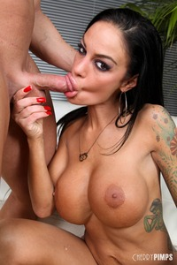 Angelina Valentine Hardcore angelina valentine hardcore gets hole drilled deep