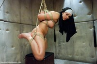 Angell Summers Hardcore gallery shameful nun tied punished fucked every hole pries