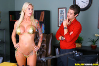 Brooker Banner Hardcore large duqcfbqenzj brooke banner hardcore office pumps realitykings shiny skank