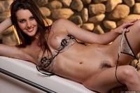Erica Ellyson Hardcore media galleries erica ellyson strips stone wall nudes