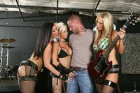 Jayden James Hardcore large vjyl fni fffm fishnet guitar hardcore instrument jayden james music mybustycam nikki benz singing