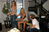 Kayla Paige Hardcore updates kayla paige welcomes neighbors threesome