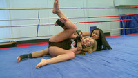 Kyra Black Hardcore temp lesbo wrestlin battle movie