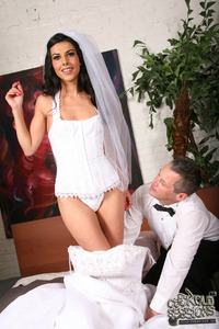 Lou Charmelle Hardcore large ensi vzs bride corset cuckoldsessions hardcore hotwife lou charmelle trimmed