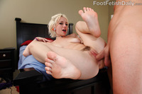 Proxy Paige Hardcore galleries proxy paige gives dick sucking footjob rides cock