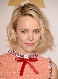 Rachel Dark Hardcore glowing rachel mcadams looked like winner already mini entertainment oscar nominees rooney mara alicia vikander hit academy awards luncheon beverly hills