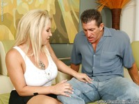 Rachel Love Hardcore pics pictures blonde fatty milf rachel love gets twat slammed hardcore creampied