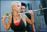 Tanya James Hardcore system pics blonde slut tanya james enjoys some hardcore fucking gym